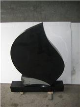 Hebei Black Granite Headstone