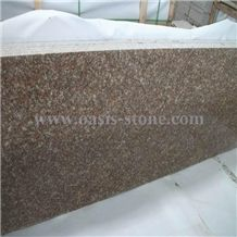 G687 Granite Tiles, Peach Red Granite