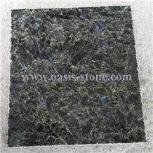 Green Galaxy Granite Tiles&Slabs, Angola Blue Star Granite