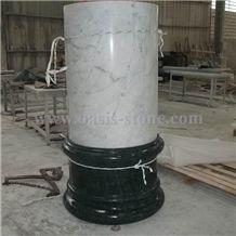 White Marble Columns