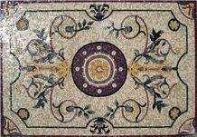 Mosaic Medallions Wall and Floors