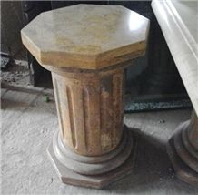 Sinu Dorado Veta Limestone Table