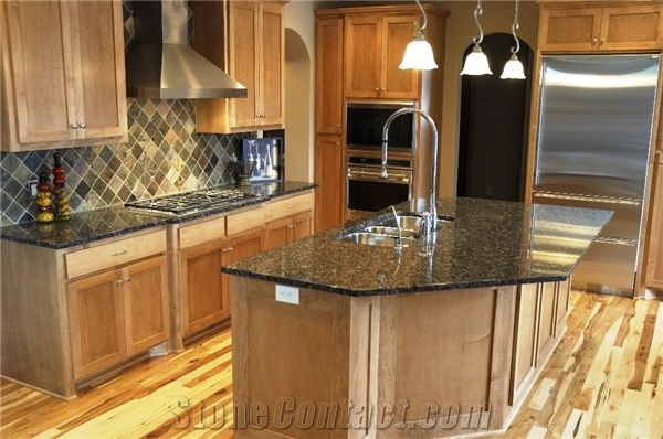 Sapphire Blue Granite Kitchen Countertop From United