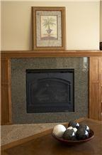 Tropic Honey Brown Granite Fireplaces