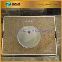 American Quality Standard G682 Yellow Granite Vanity Top for Promotion