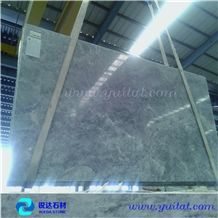 China New Arrival Shangri-La Grey Marble Slab,Chinese Tundra Blue Marble Slabs & Tiles