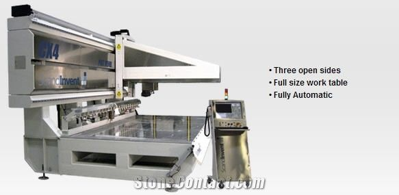 Scandinvent Cx4 - 4-Axis Cnc Work Center Sawing, Milling, Polishing