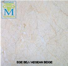 Aegean Beige Slabs & Tiles, Turkey Beige Marble