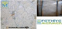 Ocean Beige Slabs & Tiles, Turkey Beige Marble