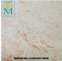 Senfony Beige, Beige Marble Slabs & Tiles