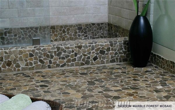 Pebble Stone Mosaic Tiles from New Zealand-260053