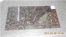 Different Sizes Granite Night Rose Granite Tiles