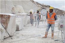 Bai Zhenzhu Beige Marble Blocks