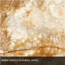 Amber Onyx, Colorful Onyx Slabs & Tiles