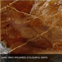 Dark Colourful Onyx Slabs & Tiles, Fire Onyx Slabs & Tiles