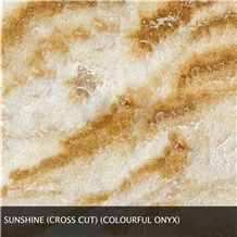 Sunshine Onyx Slabs & Tiles, Turkey Yellow Onyx