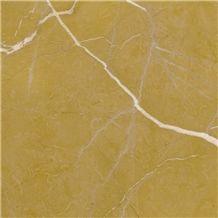 Amarillo Alicante Marble Slabs, Tiles