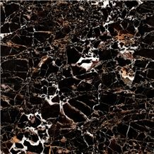 Dark Emperador Gold Marble Tiles & Slabs