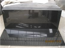Best Quality Shanxi Black Granite Tombstone for Israel Type, Shanxi , China , Absolute , Nero Assoluto, G7 Black Granite Monument & Tombstone