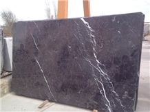 Portoro Antalya Black Slabs & Tiles, Turkey Black Marble