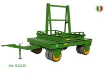 Container Trolley for Handling Trasporting Slabs