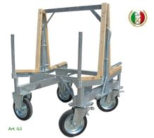 Trolley and Stand for Workpieces