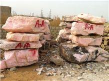 Afghan Pink Onyx Blocks, Pink Onyx Blocks, Onyx Blocks, Pink Blocks
