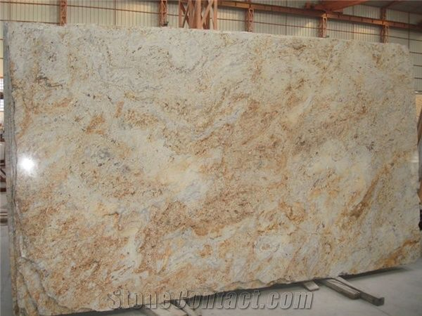 Colonial Gold Granite Slabs From India