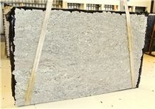 Andino White Granite Slabs, Brazil White Granite