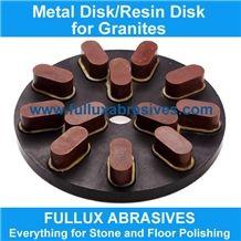 200mm Resin Grinding Disk for Granite Polishing