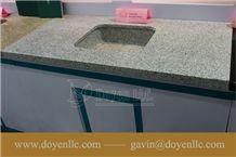 Solar White Navajo White Granite Bathroom Vanity Top Wt