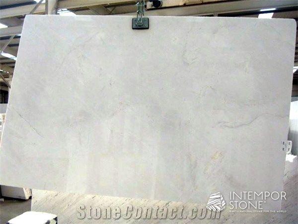 Snow White Thassos A1 Marble Slab Greece White Marble