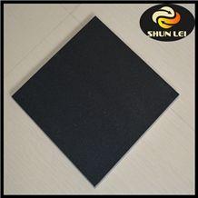 Black Granite Bathroom Floor Tiles, Shanxi Black