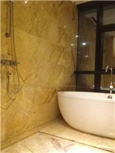 Yellow River Marble Slabs, Tiles