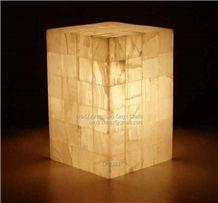 Onyx Lamps, Light Green Onyx Home Decor