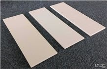 White&Beige Nano Glass Panel Crystallized Stone Tiles for Wall&Counter Top