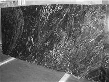 Abu Black Marble Slabs, India Black Marble