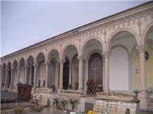1973 Monumental Cemetery Of Asiago, Rosa Asiago Marble