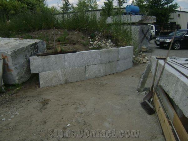 Granite Retaining Wall Chelmsford Grey