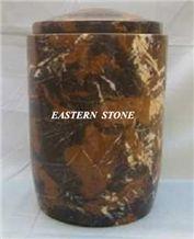 Funeral Urn, Cremation Urn, Marble Green Cremation Urns