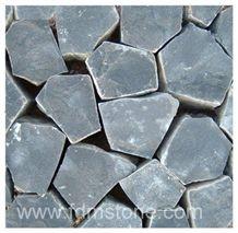 Black Andesite Basalt Flagstone