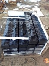 Cheap Zhangpu Black Stone Split Palisade for Garden, Stone Basalt Palisade,Garden Palisade,Stone Fence Stone Pillar