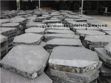 Flagstone Patio Patterns,Exfoliated Basalt Paver