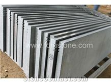 Hainan Grey Basalt Step and Stairs,Engineered Stone Size,Grey Basalt/Bluestone Step Stairs,Exterior Stair Treads,Natural Stone Stair Treads,Granit Stairs Steps
