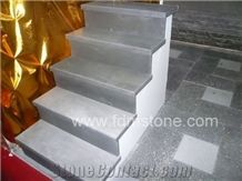 Honed Zhangpu Black Basalt Stair Step /Grey Basalt Stairs Steps/Basalt Outdoor Staircase,Stair Risers
