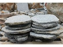 Volcanic Black Basalt Flagstone,Tactile Paver
