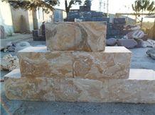 Riviera Sunshine Wallstones,Riviera Sunshine Marble Garden Wall