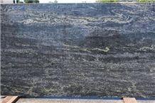 Blue Barracuda Granite Slabs, Brazil Blue Granite