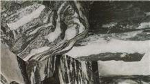 Black Angel Marble Decorative Rocks, Boulders