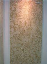Golden Vegas Dark Marble Slabs, Tiles